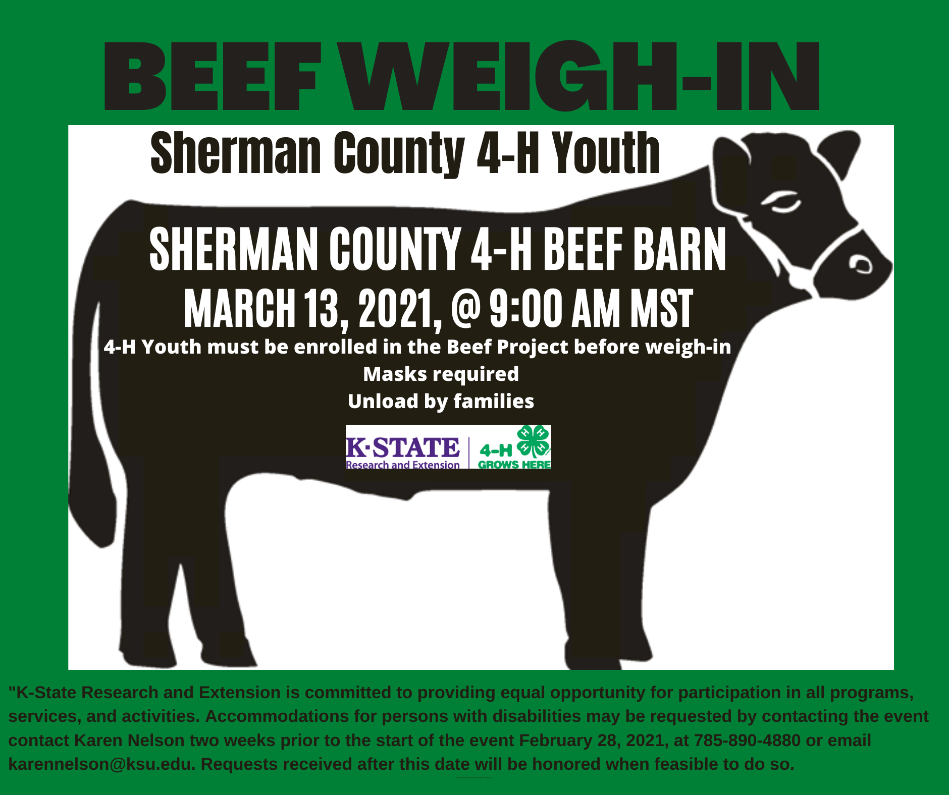Sherman Beef Weigh In