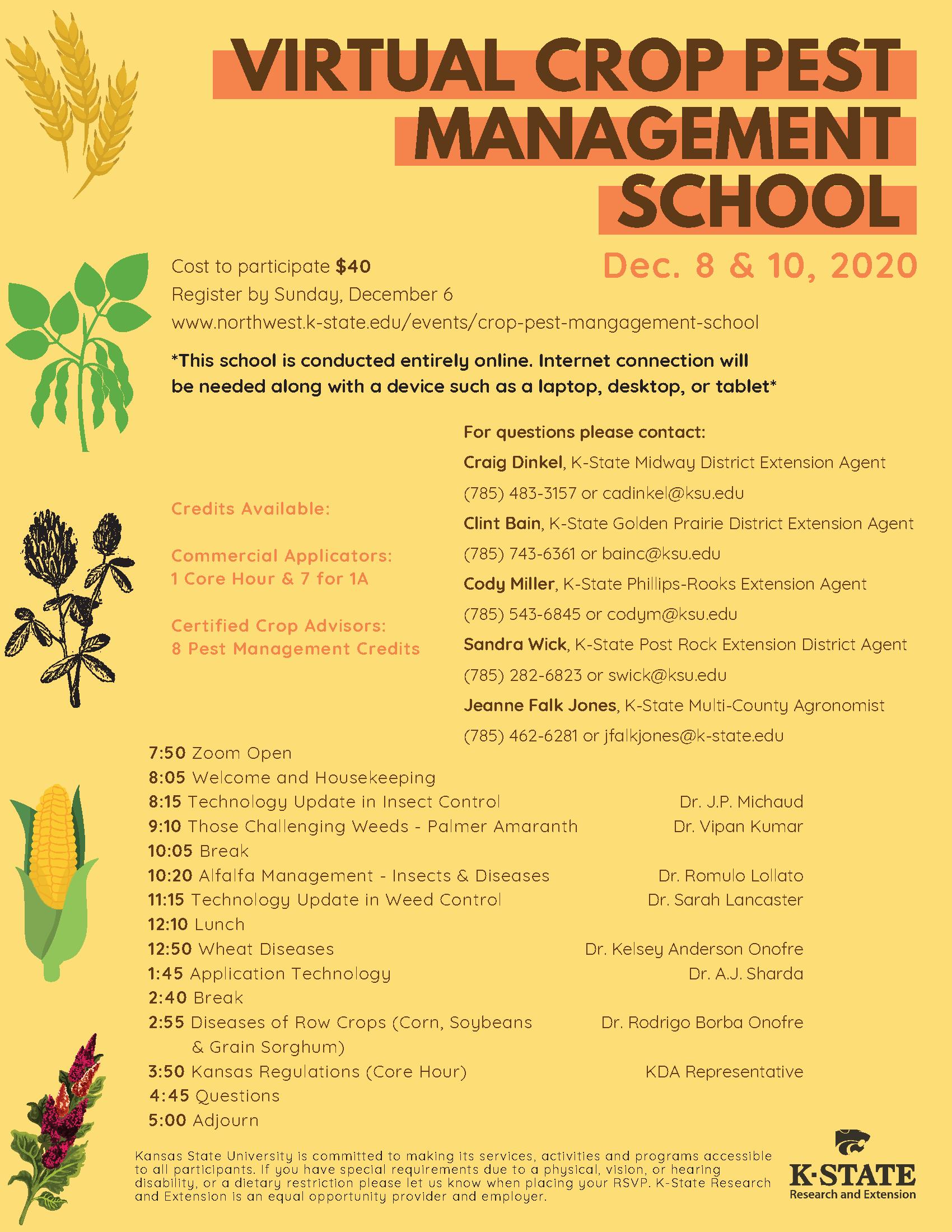 Virtual Crop Pest School