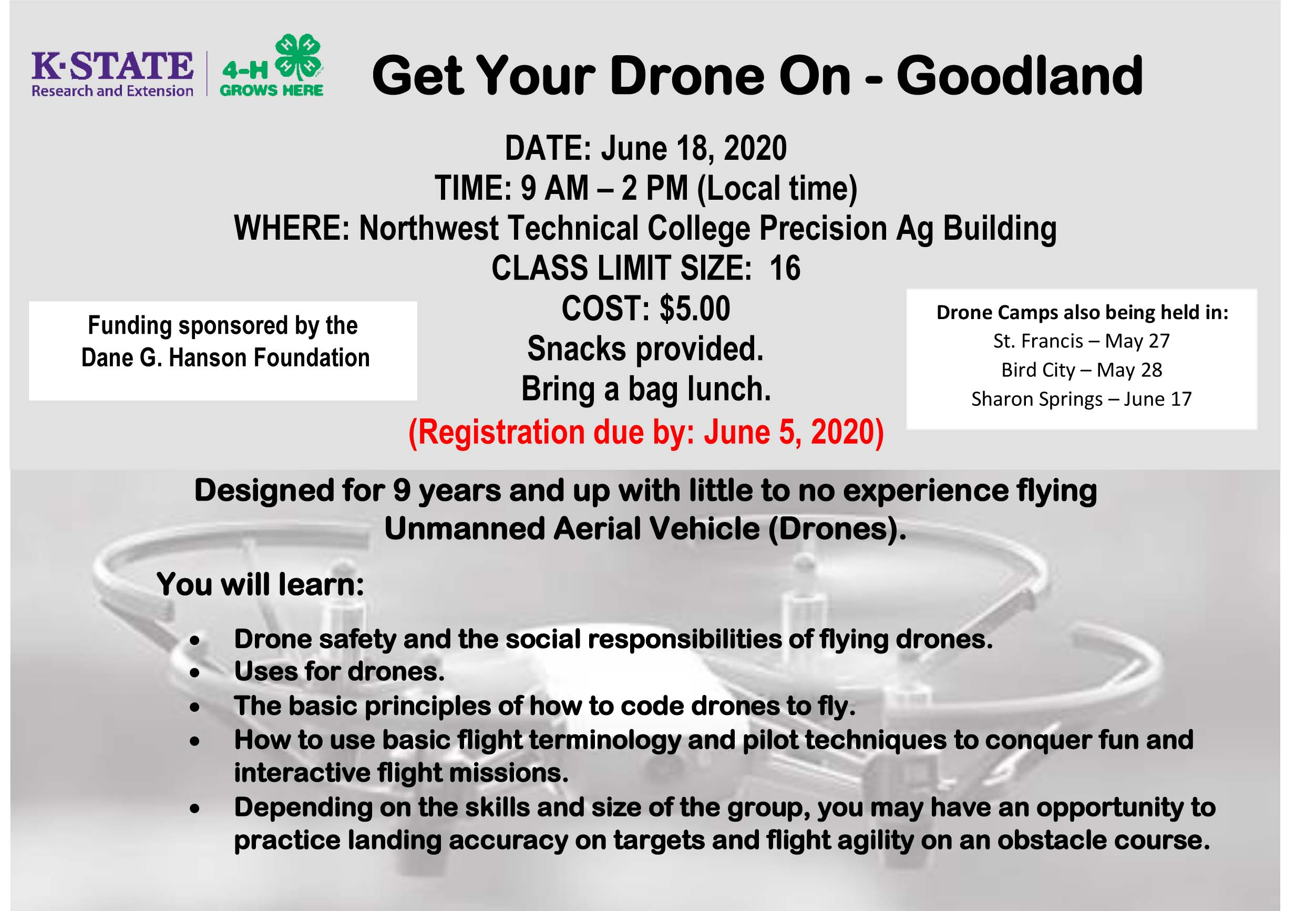 Get your Drone on